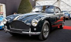 yowza.  Aston Martin DN Mark III (1957-59)  used the DB5 in the movie Goldfinger.  (I want the convertable version.)
