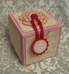 Sending Love Explosion Box.  Like the closure thingy.