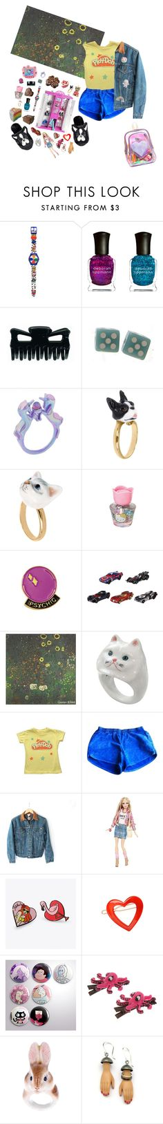 """""""I used to have like 4 friends in kindergarten"""" by queenofrocknroll ❤ liked on Polyvore featuring Deborah Lippmann, Hello Kitty, UNIF, Nach Bijoux, Famous Forever, American Apparel, Carhartt, Punky Pins, France Luxe and Margaux Lange"""