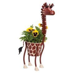 Mini Giraffe Animal Planter