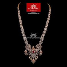 Gold Necklace for Women Online Diamond Choker Necklace, Diamond Jewelry, Gold Jewellery, Saree Jewellery, Diamond Pendant, Gold Pendant, Pendant Jewelry, Jewelry Sets, Gold Earrings