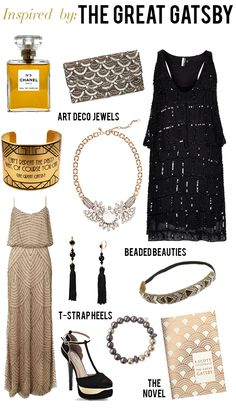 Gatsby inspired outfits