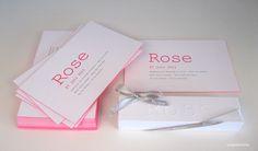 birth announcement Rose