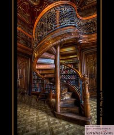 Wooden Sprial Staircase, Hungary