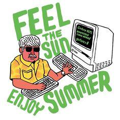 #SorsaSeppo toivottaa kaikille leppoisaa kesää. Älkää polttako nenäänne :)   (c) @jyyyyyrki