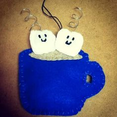 Cute homemade ornaments made by Katelyn Duffy