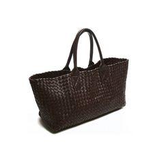 Bottega Veneta Bags Bottega Veneta Cream Woven Leather Cabat Bag Limited  Edition ( 4,200) found on Polyvore 3e5d4de2e0