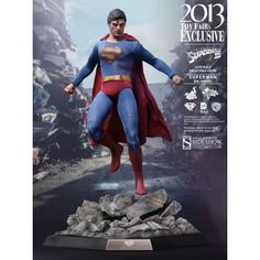 Superman III Movie Masterpiece Action Figure 1/6 Evil Superman 2013 Toy Fairs Exclusive 30 cm