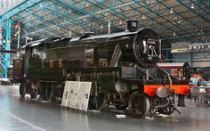 (4)2500 LMS 3-Cylindered Stanier 2-6-4T No 2500 pictured here on display at the National Railway Museum on the 3/08/2012.Photo by Mike Sargent