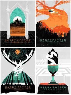 Amazing Harry Potter Covers -- By RageHooper ( Via: Stephanie Shafer Art)