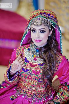 Maisara and Nasrath – Part 1 Wedding Lehnga, Pakistani Bridal Dresses, Latest Pakistani Fashion, Muslim Fashion, Turkish Fashion, Turkish Style, Afghani Clothes, Afghan Wedding, Afghan Girl