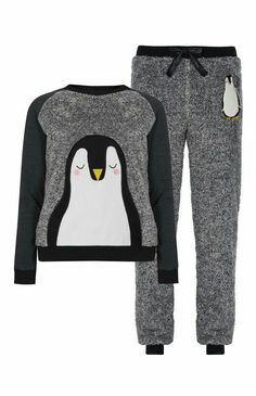 Smity 106 Cute Black ?White Penguin and ?Funny Mustache Trucker Hat