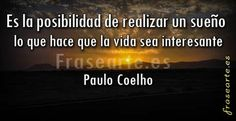 Lograr tus sueños, Paulo Coelho