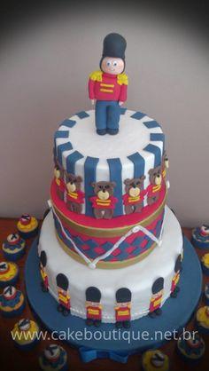 British Royal guard cake