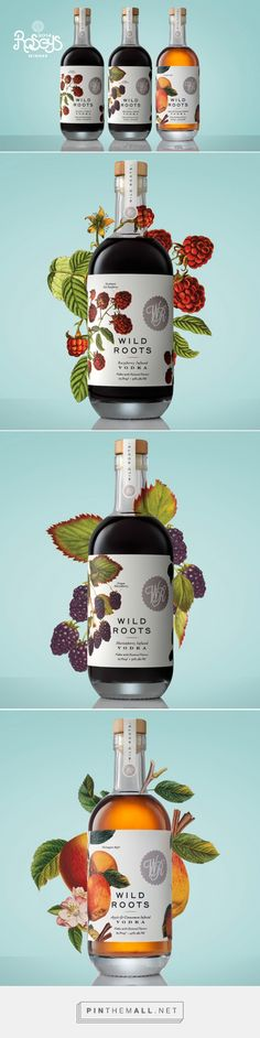 Wild Roots Vodka Packaging by Kristin Casaletto | Fivestar Branding Agency – Design and Branding Agency & Curated Inspiration Gallery