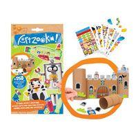 Artzooke recycle bin stickers pakket