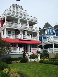 Cape May, New Jersey Jersey Girl, New Jersey, Places Ive Been, Places To Go, Beautiful Homes, Beautiful Places, Cape May, Victorian Homes, Old Houses