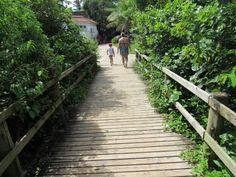 Passarela de acesso - Jurere Internacional - Florianopolis/SC - Brasil