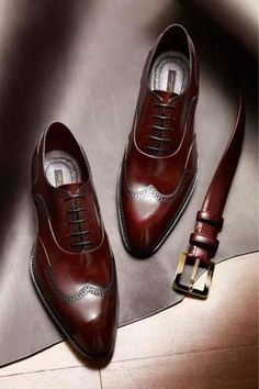 Someone get me these dark cherry brown oxfords as a graduation gift!  style  Formal · Formal ShoesCasual ... 59010e2ab137