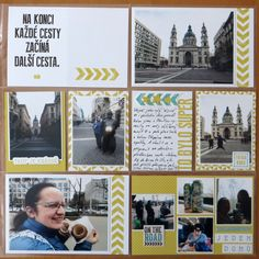 The other half of blue Budapest trip pages. Same pack of cards from PA , just this right half was all in yellow using blue decoration de. Happy Mail, Day6, Budapest, Blues, Pocket, Cards, Hampers, Merry Mail, Maps