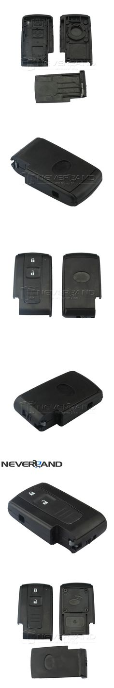 2 Buttons For Toyota Prius 04-2009 Smart Remote Key Keyless Entry Case Shell Fob Free Shipping D25