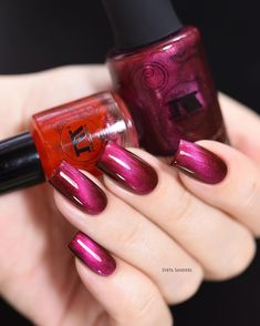 In these days it is no longer enough just to paint the nails red; There are some brilliantly artistic and creative designs that turn your nail polish into real nail art. Nail Art Designs, Colorful Nail Designs, Nail Polish Designs, Nail Polish Colors, Nails Design, Beautiful Nail Art, Gorgeous Nails, Cute Nails, Pretty Nails