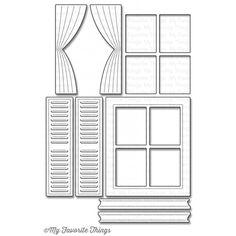 My Favorite Things CLASSIC WINDOW Die-Namics MFT889