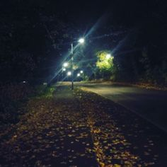 That spooky walk home !