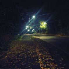 That spooky walk home !