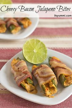 Cheesy Bacon Jalapeno Bites Recipe,, from ItsYummi.com - The perfect party appetizer or game day snack. You need this recipe!