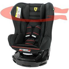 Siège auto Ferrari pivotant 360°et inclinable Made in France groupe 0+ / 1 (0-18kg) – 4 positions – protection latérales: Siège auto…