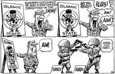 KAL's cartoon August 1st #Cartoon #Graphic #Cartoonart #Economist #Satire