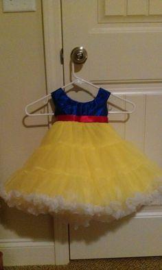 children's snow white costume snow white by BugsPrincessDresses, $80.00