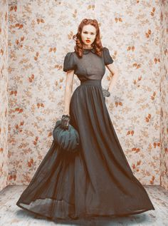 Russian designer Ulyana Sergeenko's Debut collection Fall/Winter 2011/12.