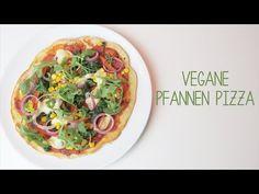 Pfannen Pizza | Vegan - YouTube