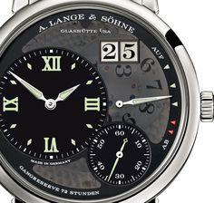 A Lange Grand Lange 1 Lumen -> Wonderful watch as usual for L ! #watches #Lange #luxury