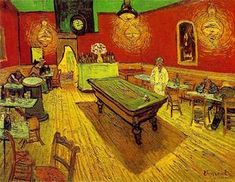 Vincent Van Gogh - The Night Cafe [1888]