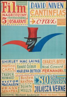 Around the World in Eighty Days (Michael Anderson, 1956) Polish design by Julian Palka