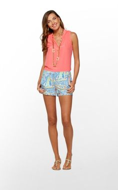 The Liza Short is the newest addition to the Lilly shorts family. LOVE the new print: Get Nauti