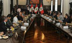 Fallo en La Haya: Ollanta Humala se reúne con directores de medios