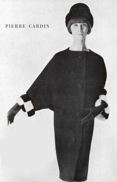 1963 Pierre Cardin coat