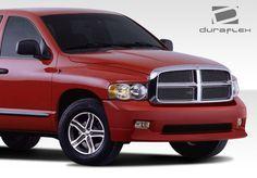 2002-2005 Dodge Ram Duraflex MP-R Front Bumper Cover - 1 Piece