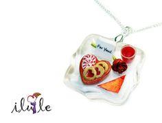 Кулон миниатюра Кулон сладости Милый кулон день от IluLe на Etsy, $25.00