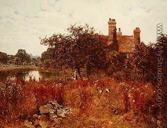 Sweet September, near Abinger Hammer, 1901 - Edward Wilkins Waite