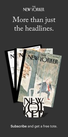 Consolations | The New Yorker