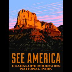 El Capitan, Guadalupe Mountains National Park by Aaron Bates  #SeeAmerica