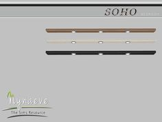 Soho Bedroom - Dresser Light Found in TSR Category 'Sims 4 Floor Lamps'