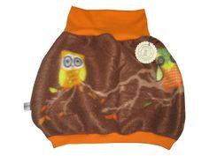 Eulen Ballonrock Rock Fleece von Me Kinderkleidung auf DaWanda.com