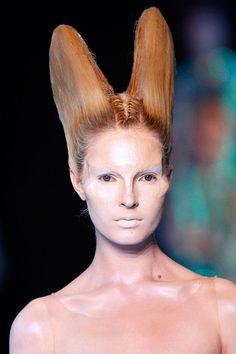 Alexander McQueen Makeup Warpaint London Exhibit