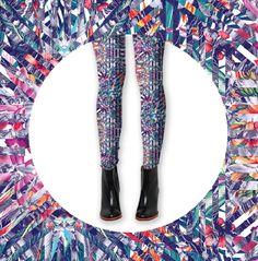 """Leggings """"Cosmic Bloom"""" http://www.differentdesign.it/leggings-cosmic-bloom/ Una collezione di #leggings esplosiva, per essere alla #moda e contraddistinguersi con uno stile unico!"""